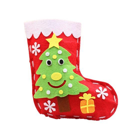 Christmas Socks Making 1