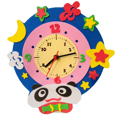 Foam Clock Making 11