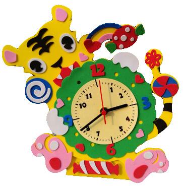 Foam Clock Making 8