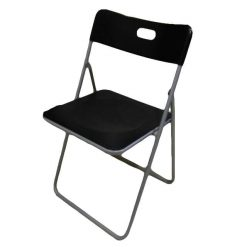 Foldable Chair (Black).