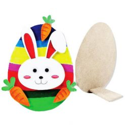 Easter 3D Bunny Deco Board Stand