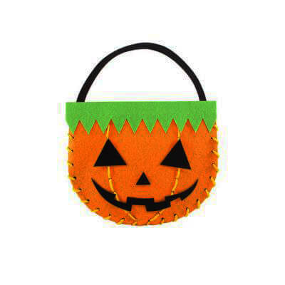Halloween Felt Candy Bag Making1