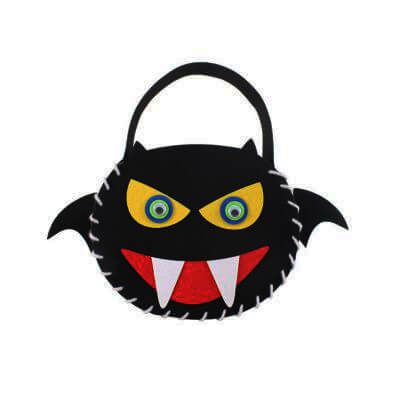 Halloween Felt Candy Bag Making2