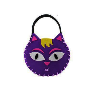 Halloween Felt Candy Bag Making4